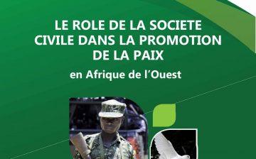 Le Rôle de la Société Civile dans La Promotion de la Paix en Afrique de l'Ouest
